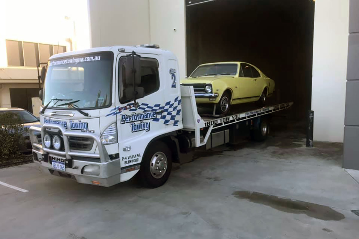monaro towing